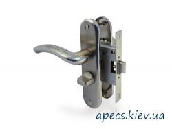 Защелка с ручками APECS 5526-WC-AL-S/NI (120mm)