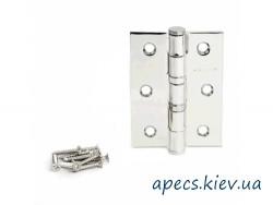 Петлі дверні APECS 75*62-B2-CR