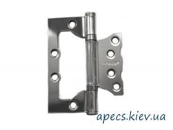 Петли накладные APECS 100*75*2,5-B2-V2-Steel-CR (бабочка)