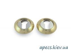 Накладка цилиндровая APECS DP-C-05-G/CR Premier