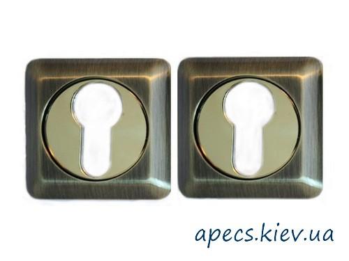Накладка цилиндровая APECS DP-C-05-SQUARE-AB