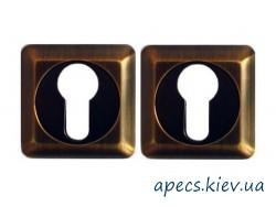 Накладка цилиндровая APECS DP-C-05-SQUARE-CF