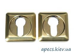 Накладка цилиндровая APECS DP-C-05-SQUARE-GM