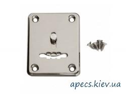 Накладка сувальдная APECS DP-S-01-CR-shutter (со шторкой)