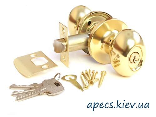 Ручка защелка APECS 6093-01-G