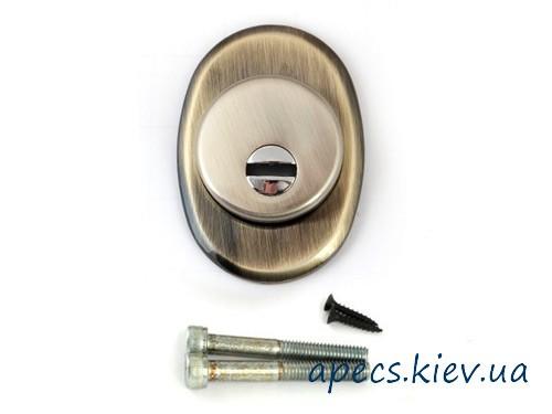 Накладка сувальдная APECS Protector Pro 50/27-DP-AB