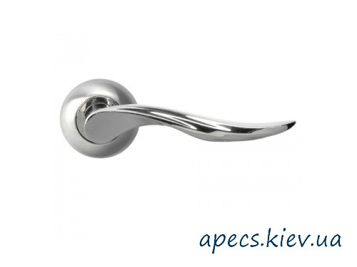 Ручки на розетке APECS H-0572-Z-S/CR Premier