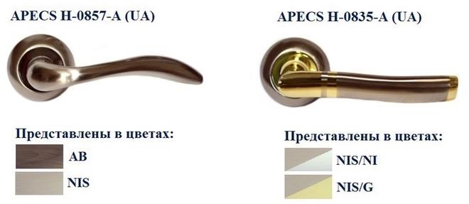 Расширение ассортимента ручек ТМ APECS серии 08-AL